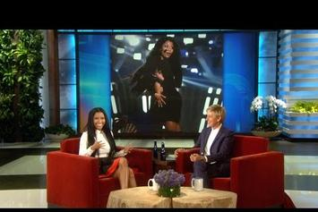 Nicki Minaj Talks Wardrobe Malfunction With Ellen DeGeneres