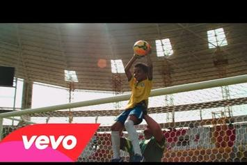 """Kelly Rowland """"The Game"""" (World Cup Video)"""
