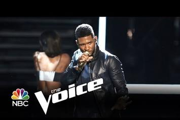 "Usher Performs ""Good Kisser"" On ""The Voice"""