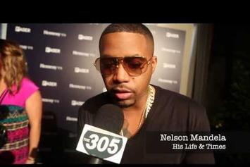 Nas Speaks On Nelson Mandela's Influence