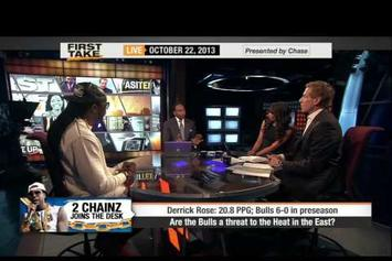 2 Chainz On ESPN's First Take