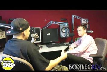 "Logic (MD) ""Reveals His Top 3 Hip Hop Albums Ever w/ Bootleg Kev "" Video"