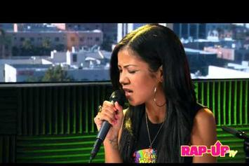 "Jhene Aiko ""Covers Tupac's ""Keep Ya Head Up"""" Video"