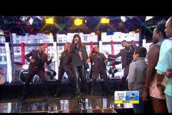 "Kelly Rowland Feat. Pusha T ""Street Life (Live On Good Morning America)"" Video"