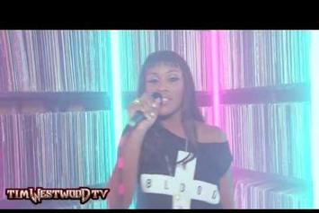 """Eve """"Tim Westwood Freestyle"""" Video"""