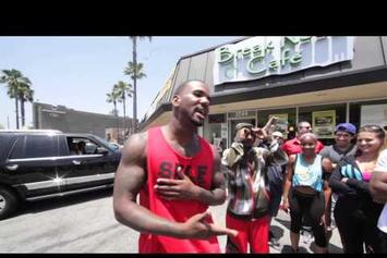 """Game """"Freestyles For Crowd In L.A."""" Video"""