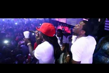 """Ace Hood Feat. Meek Mill """"Performs """"Bugatti (Remix) & We Outchea In Miami"""" Video"""