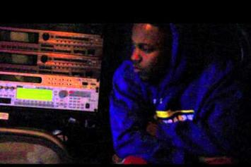 "Kendrick Lamar Feat. Sap ""In The Studio"" Video"
