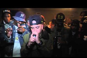 "Smoke DZA Feat. Al-Doe & NYMLo ""Boiler Room Cypher"" Video"