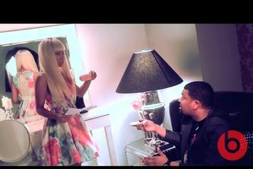 "Nicki Minaj ""Beats By Dre Commercial BTS"" Video"