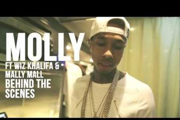 "Tyga Feat. Wiz Khalifa & Mally Mall ""BTS Of ""Molly"" "" Video"