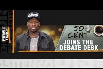 """50 Cent """"On ESPN's First Take"""" Video"""