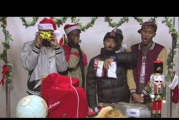 "Joey Bada$$ Feat. Pro Era Crew ""How To Rap A Present Freestyle"" Video"