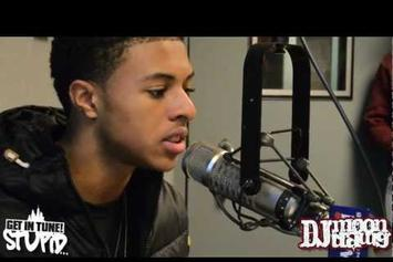 "Diggy Simmons ""On 107.5 WGCI w/ DJ MoonDawg"" Video"