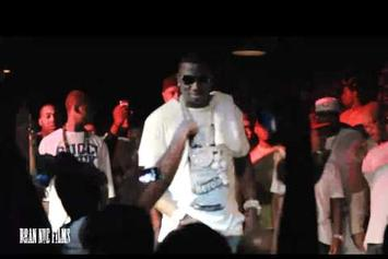 "Gucci Mane ""Welcome Home Party Club Fathom"" Video"