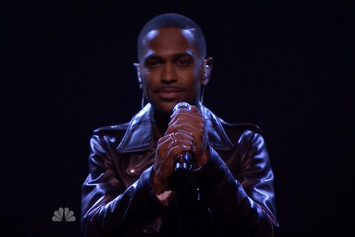 """Big Sean Performs """"One Man Can Change The World"""" On Jimmy Fallon"""
