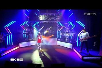 "Kid Ink Performs ""Be Real"" On SKEE TV"