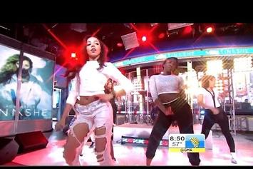 "Tinashe Performs ""All Hands On Deck"" On Good Morning America"