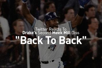 """Twitter Reacts To Drake's Second Meek Mill Diss, """"Back To Back"""""""