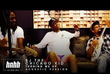 """BJ The Chicago Kid Performs Acoustic Version Of """"Turning Me Up"""""""