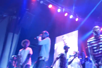 Chris Brown Brings Out Young Thug In Atlanta