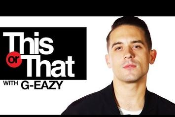 "G-Eazy Plays ""This Or That"""