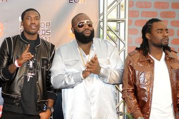 Rick Ross Says Meek Mill & Wale's Beef Is Over