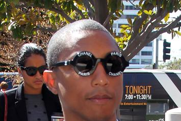 "Watch Pharrell's Tense ""Blurred Lines"" Deposition"