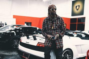 "2 Chainz Is Selling ""Ugly Christmas Sweaters"" Featuring Weed Leaves & Dabbin' Santas"