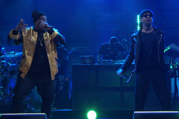 "Ty Dolla $ign & E-40 Perform ""Saved"" On Conan"