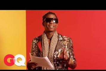 "Young Thug Reads His ""Best Friend"" Lyrics"