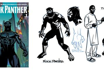 "Preview Ta-Nehesi Coates' Version Of Marvel's ""Black Panther"""