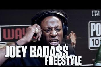 Joey Bada$$ Freestyle On Power 106