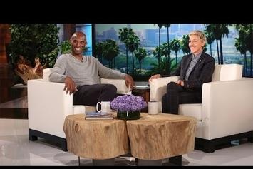 Kobe Bryant Gives First Post-Retirement Interview With Ellen & Pulls A Prank