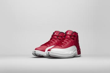 "Release Reminder: The ""Gym Red"" Air Jordan 12 Releases Tomorrow"