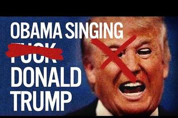 "President Obama Raps YG's ""F*ck Donald Trump"" (Spoof)"