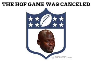 """NFL Cancels Tonight's Hall Of Fame Game: Field """"Felt Like Cement"""""""