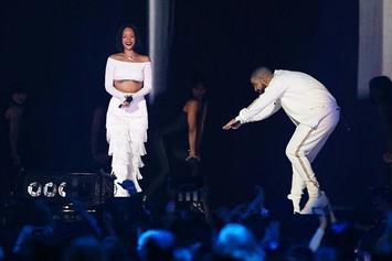 Drake Congratulates Rihanna On Her Video Vanguard Award With A Billboard