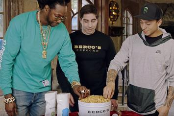 """2 Chainz Eats Gold-Coated Popcorn On GQ's """"Most Expensivest Shit"""""""