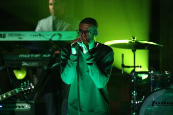 "Vince Staples Performs ""Smile"" On Fallon"