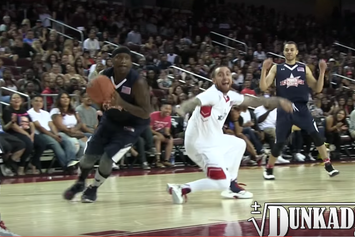 Mac Miller Got His Ankles Broken During Power 106 Celebrity Game