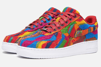 This Coogi-Inspired Air Force 1 Would Make Biggie Proud