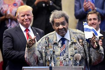 Don King Drops The N-Word While Introducing Donald Trump