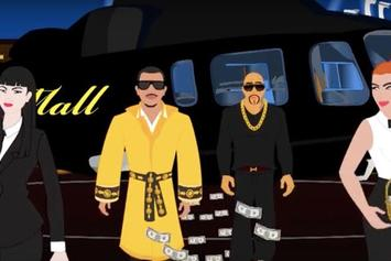 "Mally Mall Feat. French Montana, 2 Chainz, Iamsu! ""Where You At"" Video"