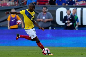 Ecuadorian Soccer Star Fakes Injury To Evade Arrest For Unpaid Child Support