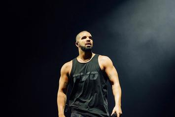 """Drake Gets """"Unruly"""" Tattoo On Arm"""