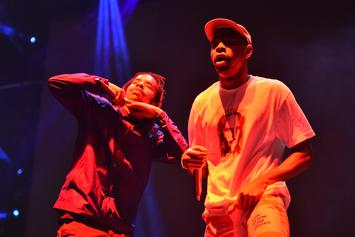 Tyler, The Creator & Earl Sweatshirt Reunite As EARLWOLF At Camp Flog Gnaw Day 2