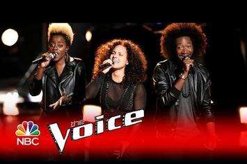 """Watch Alicia Keys & Adam Levine's Moving """"Holy War"""" Performance On """"The Voice"""""""