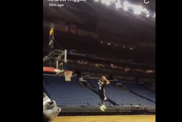 Watch Zach LaVine Throw Down A 360 From The Foul Line