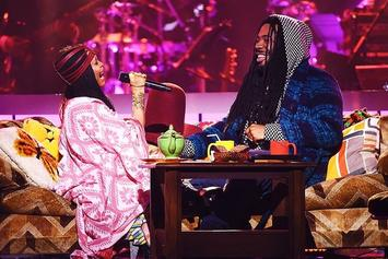 Erykah Badu Says She's Working On A Collab EP With D.R.A.M.